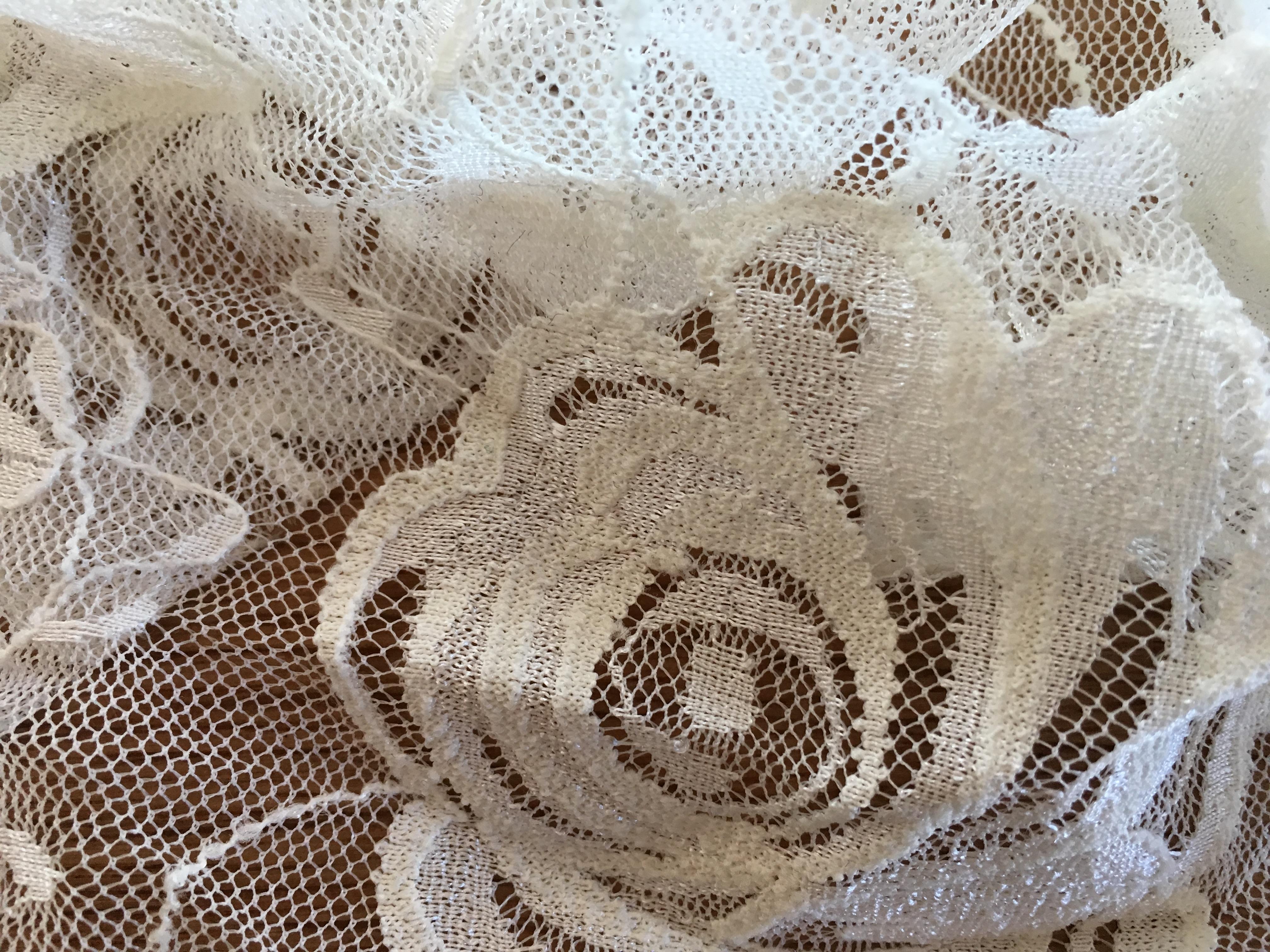 elastische Rosen-Spitze Eierschalen Farbe von Cony's Dance Design