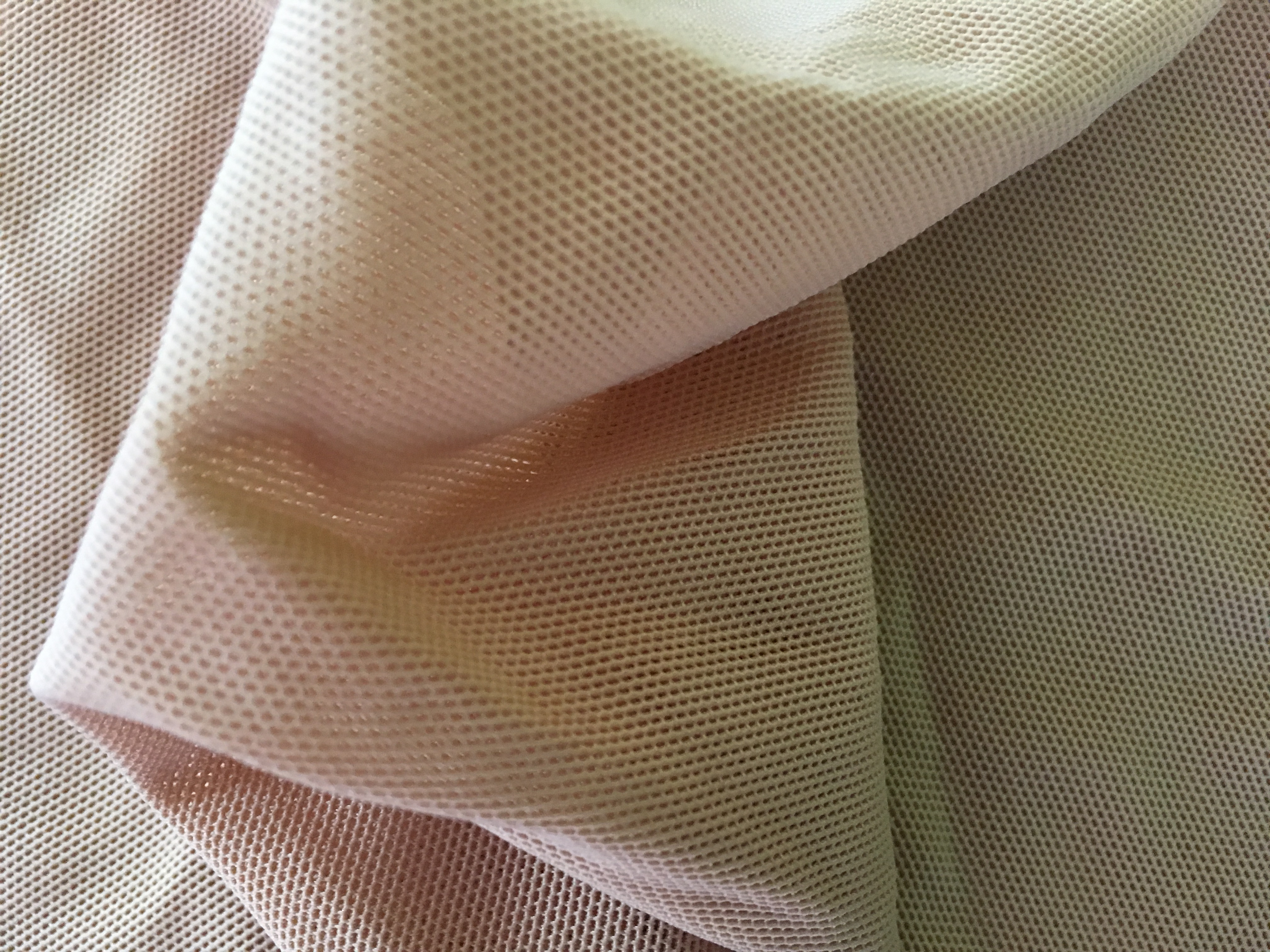 Haut-farbener Chiffon dehnbar von Cony's Dance Design sehr gute Qualität